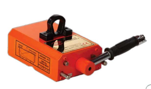 Sistema de elevación magnético para chapas planas o cilíndricas