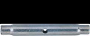Cuerpo de tensor de tubo en acero galvanizado