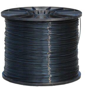 Cable plastificado con poliamida en color negro especial máquinas de gimnasios
