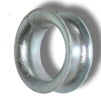 Guardacabos redondos en acero galvanizado para cables de acero