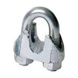 Sujeta cables de acero galvanizado Modelo DIN 1142