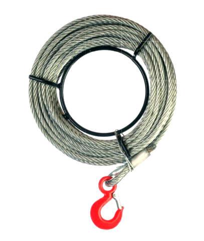 Tiradores de cable de cuerpo de aluminio cable y gancho