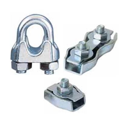 Sujeta cables en acero inoxidable según norma AISI316
