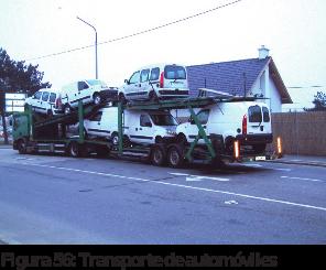 Figura 56: Transporte de automóviles