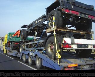 Figura 59: Transporte de camiones y remolques