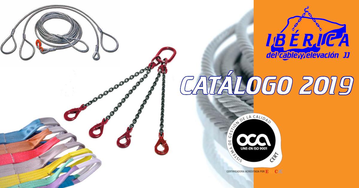 Ya puedes descargarte el nuevo catálogo de Ibérica del Cable y Elevación, y tenerlo a tú disposición para futuras consultas.