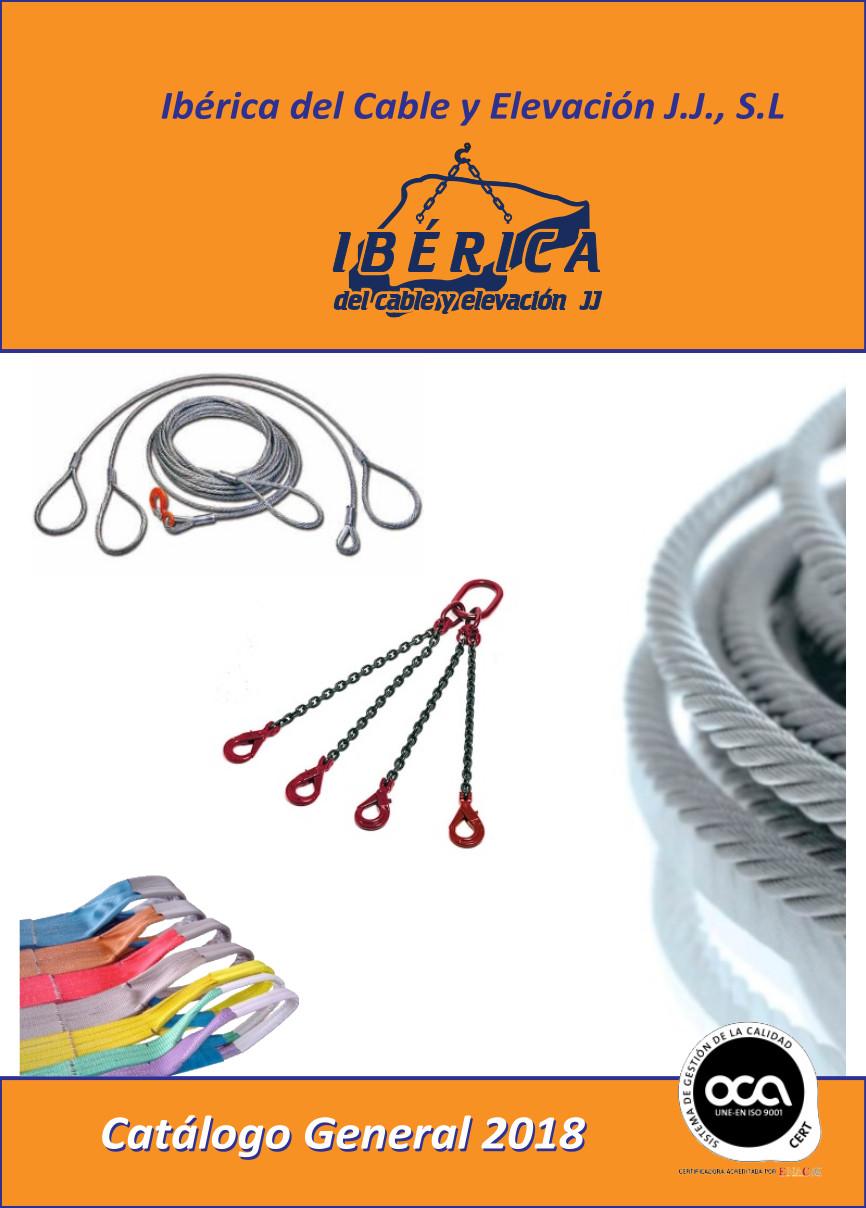 Catalogo de eslingas y cables de iberica del cable y elevacion 2018